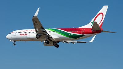 CN-ROY - Boeing 737-8B6 - Royal Air Maroc (RAM)