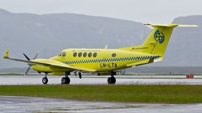 LN-LTA - Beechcraft B200 Super King Air - Lufttransport