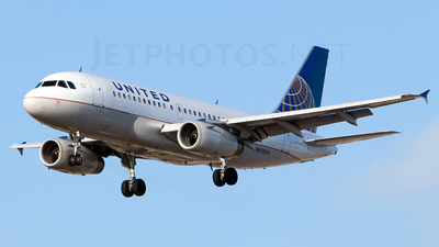 N835UA - Airbus A319-131 - United Airlines
