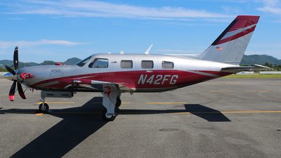 A picture of N42FG - Piper PA46M500 - [4697612] - © JAKA