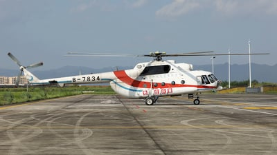 B-7834 - Mil Mi-17 Hip - Qingdao Helicopter