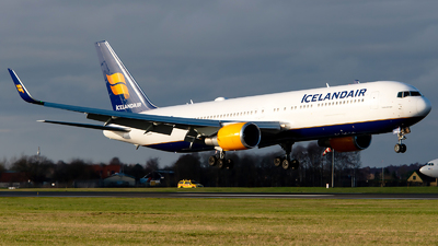 A picture of TFISN - Boeing 767319(ER) - Icelandair - © GoldenWingPix
