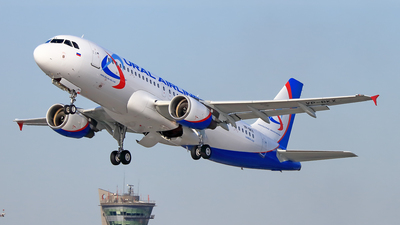 VP-BKX - Airbus A320-214 - Ural Airlines