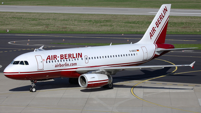 D-ABGC - Airbus A319-132 - Air Berlin
