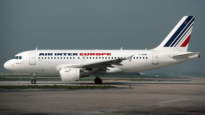 F-GPMF - Airbus A319-113 - Air Inter Europe