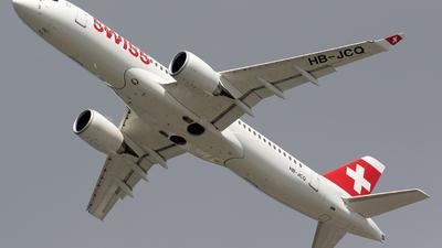 HB-JCQ - Airbus A220-300 - Swiss