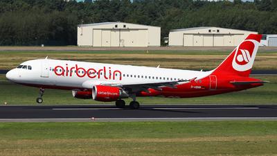 D-ABNW - Airbus A320-214 - Air Berlin
