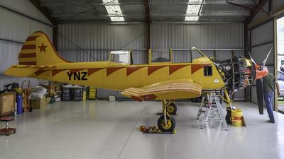 ZK-YNZ - Yakovlev Yak-52 - Private
