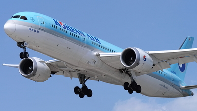 HL7206 - Boeing 787-9 Dreamliner - Korean Air