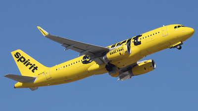 N692NK - Airbus A320-232 - Spirit Airlines