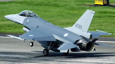 6720 - General Dynamics F-16AM Fighting Falcon - Taiwan - Air Force