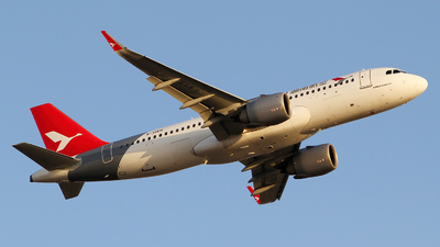A picture of B30EH - Airbus A320251N - Air Travel - © M.T
