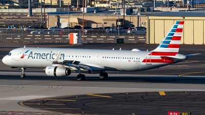 A picture of N140AN - Airbus A321231 - American Airlines - © Ricky Teteris