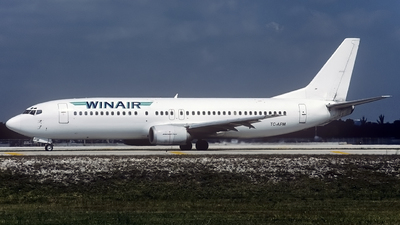 TC-AFM - Boeing 737-4Q8 - Winair - Windward Islands Airways
