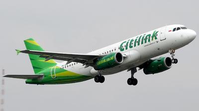 PK-GLC - Airbus A320-232 - Citilink