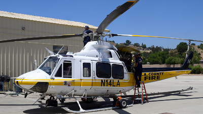 N14LA - Bell 412EP - United States - Los Angeles County Fire Department