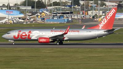 G-JZHH - Boeing 737-85P - Jet2.com