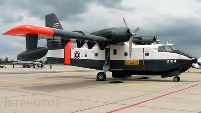 2104 - Canadair CL-215 - Thailand - Royal Thai Navy