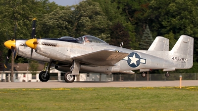 N887XP - North American XP-82 Twin Mustang - Private