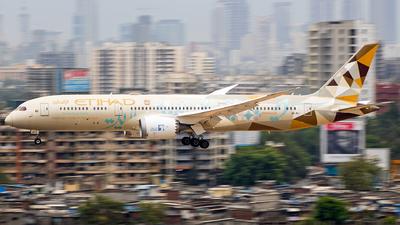 A picture of A6BLI - Boeing 7879 Dreamliner - Etihad Airways - © Aneesh Bapaye