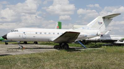 0823 - Yakovlev Yak-40 - Slovakia - Air Force