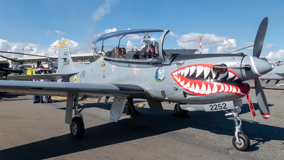 FAC2252 - Embraer T-27 Tucano - Colombia - Air Force