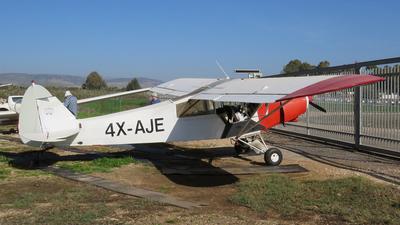 4X-AJE - Piper PA-18-150 Super Cub - Private