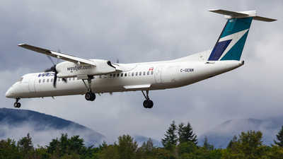 A picture of CGENM - Bombardier Dash 8 Q400 - WestJet Encore - © Keeper1