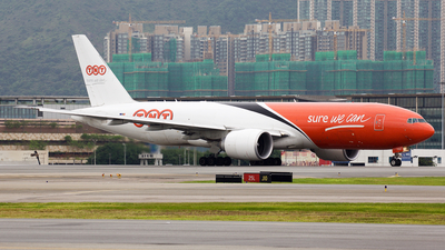 OO-TSC - Boeing 777-FHT - TNT Airways