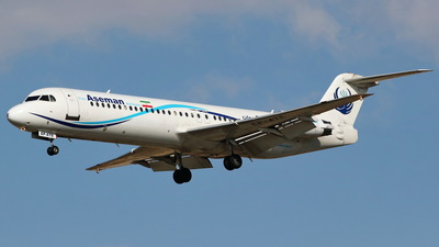 EP-ATE - Fokker 100 - Iran Aseman Airlines