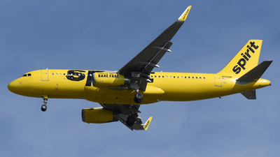 N656NK - Airbus A320-232 - Spirit Airlines