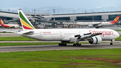 A picture of ETAPX - Boeing 77736N(ER) - Ethiopian Airlines - © Mickey-Mi
