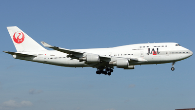 JA8072 - Boeing 747-446 - Japan Airlines (JAL)