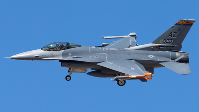 88-0520 - Lockheed Martin F-16C Fighting Falcon - United States - US Air Force (USAF)