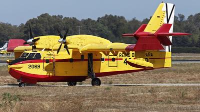A picture of UD.1403 - Canadair CL415 -  - © Manuel Llama - Benalmadena Spotters
