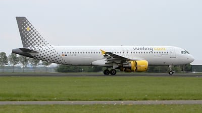 EC-LZZ - Airbus A320-214 - Vueling Airlines