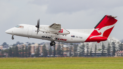VH-TQG - Bombardier Dash 8-201 - QantasLink (Eastern Australia Airlines)