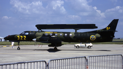 88003 - Swearingen Tp88 Metro III/AEW - Sweden - Air Force