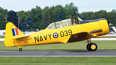 C-FNDB - North American AT-6 Harvard IIA - Private