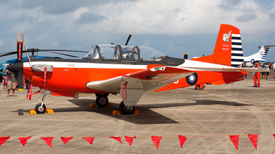3428 - Beechcraft T-34C Turbo Mentor - Taiwan - Air Force