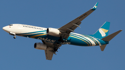 A picture of A4OBQ - Boeing 73781M - Oman Air - © Oleksiy Naumov
