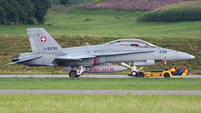 J-5232 - McDonnell Douglas F/A-18D Hornet - Switzerland - Air Force