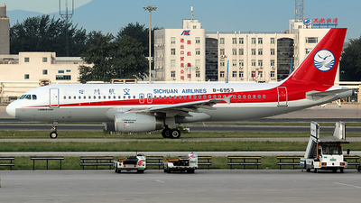 B-6953 - Airbus A320-232 - Sichuan Airlines