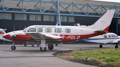 G-POLO - Piper PA-31-350 Navajo Chieftain - Grosvenor Aviation Services