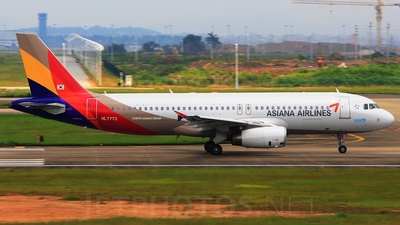 HL7773 - Airbus A320-232 - Asiana Airlines