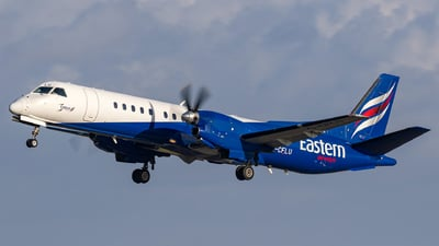 G-CFLU - Saab 2000 - Eastern Airways