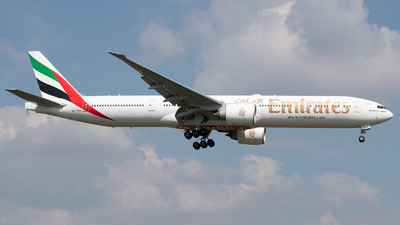 A picture of A6EQA - Boeing 77731H(ER) - Emirates - © David W. Wilson