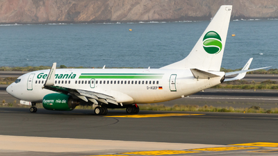 D-AGEP - Boeing 737-75B - Germania