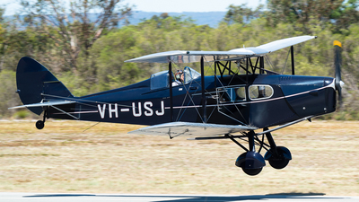 VH-USJ - De Havilland Canada DH-83C Fox Moth - Private