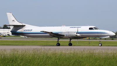 A picture of N569UP - Fairchild Swearingen Metroliner - Ameriflight - © SEN BAI